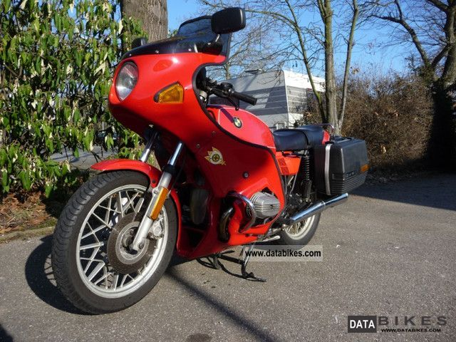 1981 BMW  R45 Motorcycle Streetfighter photo