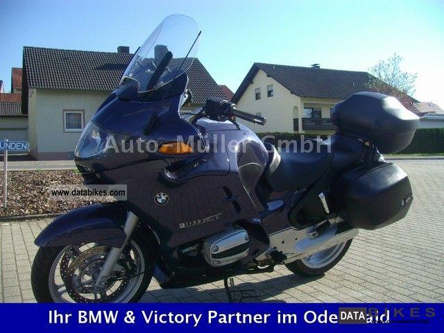 BMW  R 1150 RT (1.99% FINANCING FOR POSSIBLE) 2002 Enduro/Touring Enduro photo