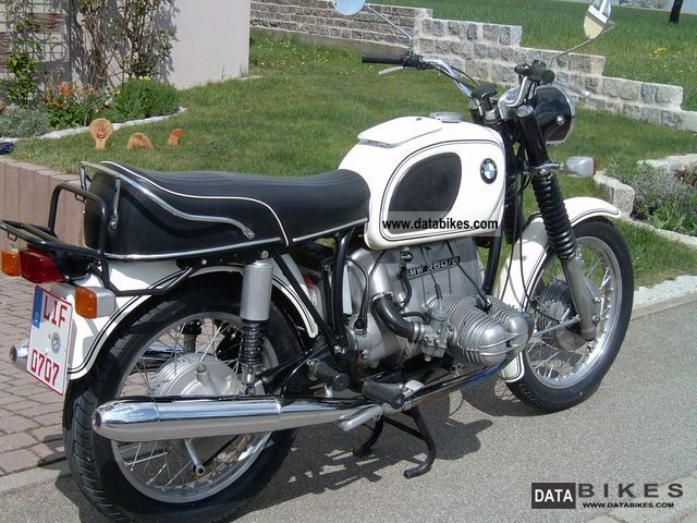 BMW  R60 / 5 1972 Vintage, Classic and Old Bikes photo