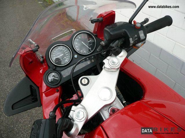 2001 Bmw K 1200 Rs 2xkoffer Heated Grips Mot 03 2013 Led