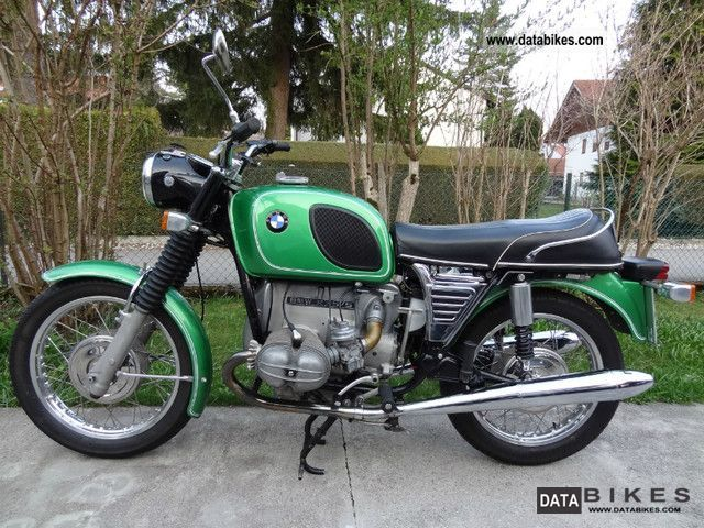 BMW  R75 / 5 1973 Vintage, Classic and Old Bikes photo