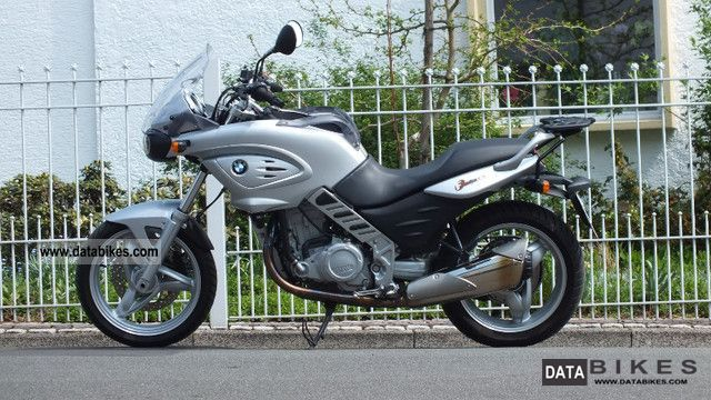 2002 BMW  F 650 CS lowered Motorcycle Tourer photo