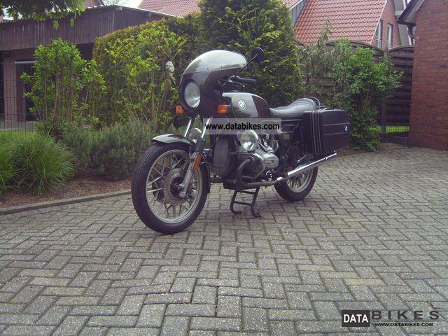 1980 BMW  R80 Motorcycle Tourer photo