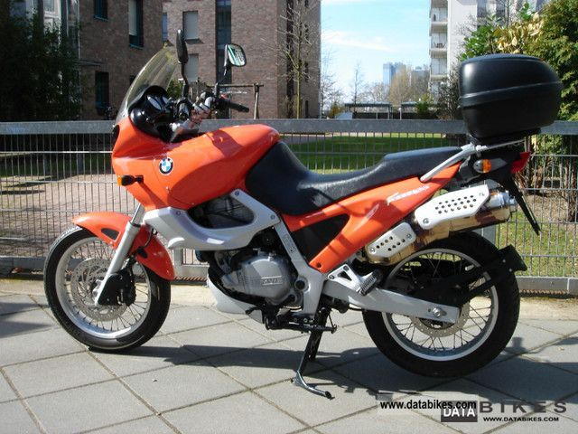 1997 BMW  F650 ST Motorcycle Tourer photo
