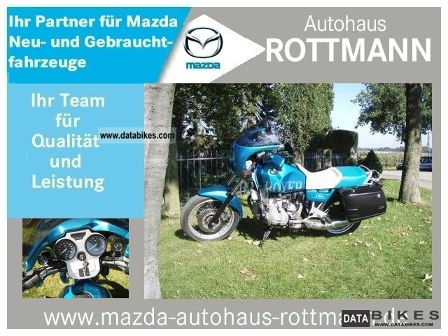 1994 BMW  R100 / Type: 247E, 41.79 thousand km ORIGINAL, accessories ..... Motorcycle Motorcycle photo