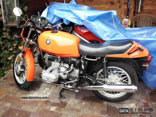 1980 BMW  R 65 vintage cars Motorcycle Naked Bike photo