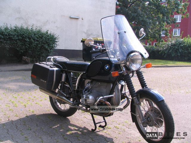 BMW  R60 / 6 1973 Vintage, Classic and Old Bikes photo