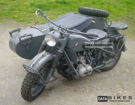 BMW  R75 - Wehrmachtsgespann 1942 Vintage, Classic and Old Bikes photo