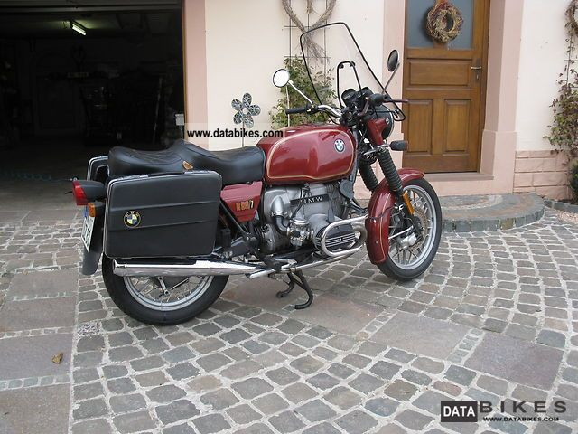 BMW  R80 / 7 1981 Motorcycle photo