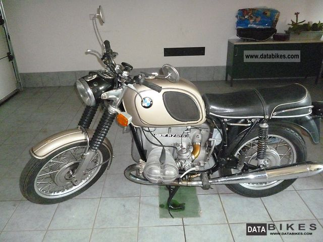 BMW  R 75/5 1970 Vintage, Classic and Old Bikes photo