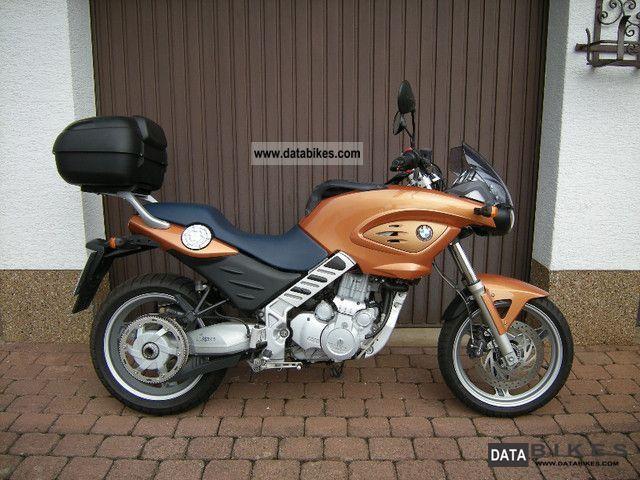 2003 BMW  F650 CS Motorcycle Tourer photo