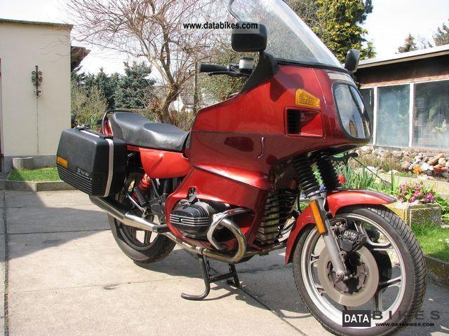 1986 BMW  R 80 R t Motorcycle Tourer photo