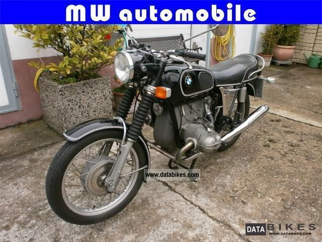 BMW  R 60/5 1974 Vintage, Classic and Old Bikes photo