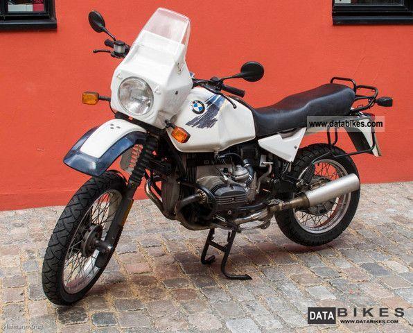 1988 BMW  R100 GS Motorcycle Enduro/Touring Enduro photo