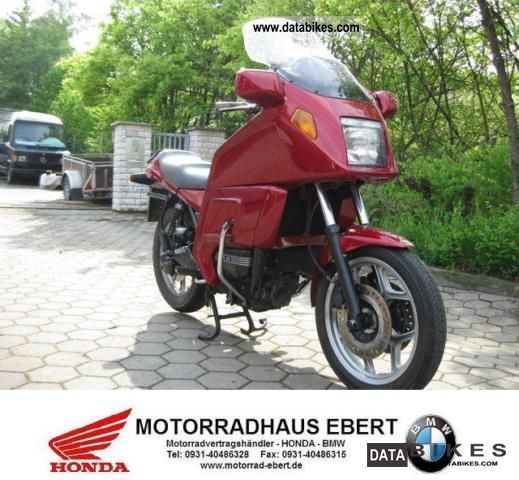 1993 BMW  K75RT / Top maintained / low km Motorcycle Motorcycle photo