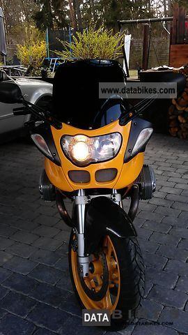 2001 BMW  R1100S Motorcycle Sport Touring Motorcycles photo