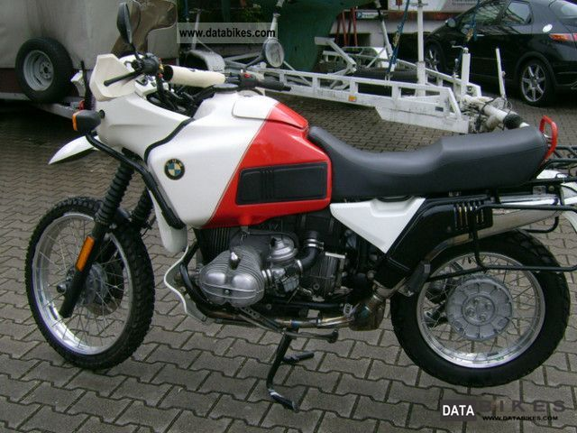 1988 BMW  R100GS Paris / Dakar Motorcycle Enduro/Touring Enduro photo