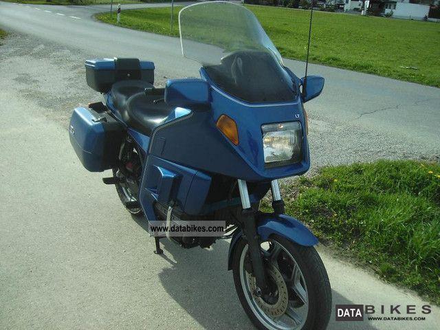 Bmw Tourer Motorcycle Bmw K100lt 1990 Tourer