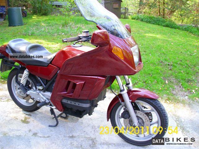 1986 BMW  100 RT Motorcycle Tourer photo