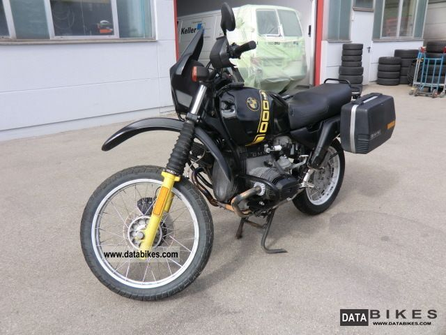 1988 BMW  1000 GS new tires included; Motorcycle Enduro/Touring Enduro photo