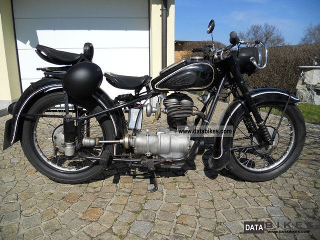 1952 BMW  R25 / 2 Motorcycle Motorcycle photo