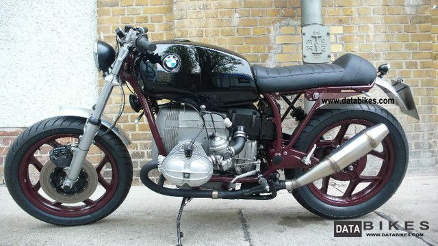 1986 BMW  R 80-time contrast- Motorcycle Motorcycle photo