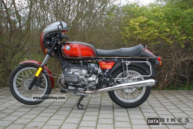 1982 BMW  R100CS Motorcycle Sport Touring Motorcycles photo