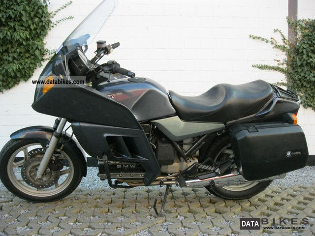 1986 BMW  K 100 RT with suitcases Motorcycle Tourer photo