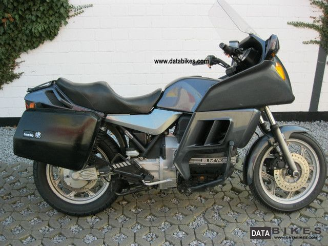 1986 bmw k 100 rt with suitcases. Black Bedroom Furniture Sets. Home Design Ideas
