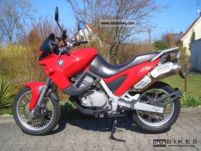 1996 BMW  F 650 \ Motorcycle Enduro/Touring Enduro photo