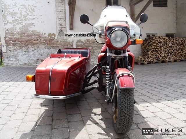 1985 BMW  k100 Motorcycle Combination/Sidecar photo