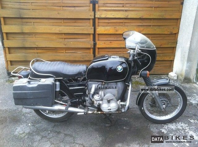 BMW  R 75 6 1976 Vintage, Classic and Old Bikes photo