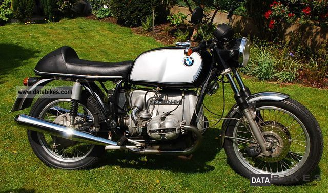 BMW  R 75/6 Cafe Racer 1976 Vintage, Classic and Old Bikes photo