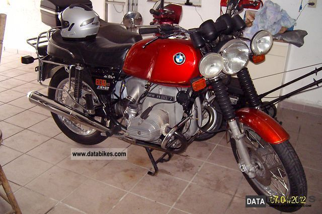 BMW  R 80/7 1978 Vintage, Classic and Old Bikes photo