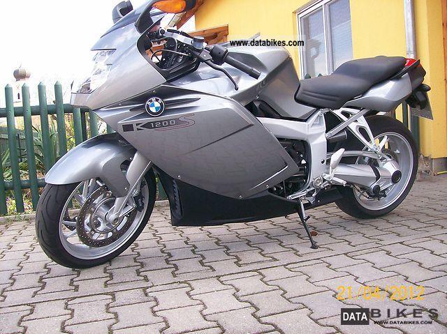 2006 BMW  K1200S + + + + ESA + ABS + alarm + checkbook Motorcycle Sports/Super Sports Bike photo