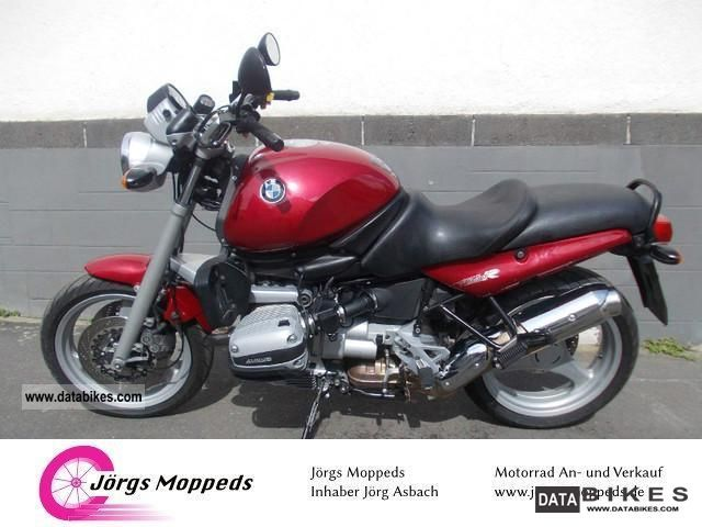 1996 BMW  R 850R is a classic in good condition Motorcycle Motorcycle photo