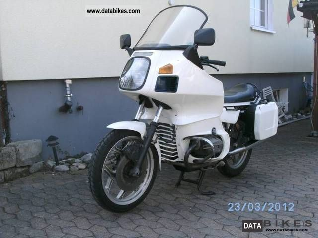 1987 BMW  R 65 RT Type 247 Motorcycle Motorcycle photo