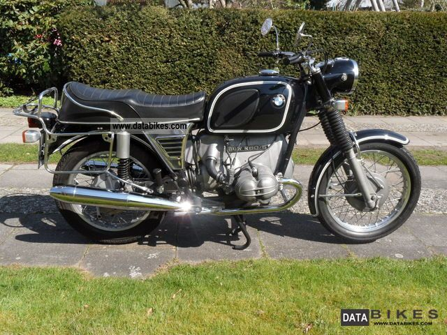 BMW  R60 / 5 1973 Vintage, Classic and Old Bikes photo