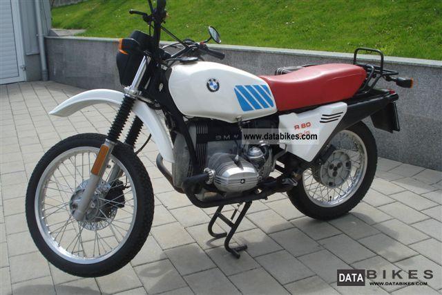 1980 BMW  R80 GS Motorcycle Enduro/Touring Enduro photo