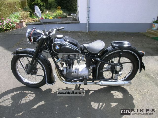 BMW  R 25/2 1952 Vintage, Classic and Old Bikes photo