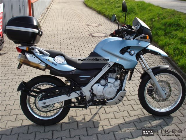BMW  F 650 GS ABS with accessories 2002 Enduro/Touring Enduro photo