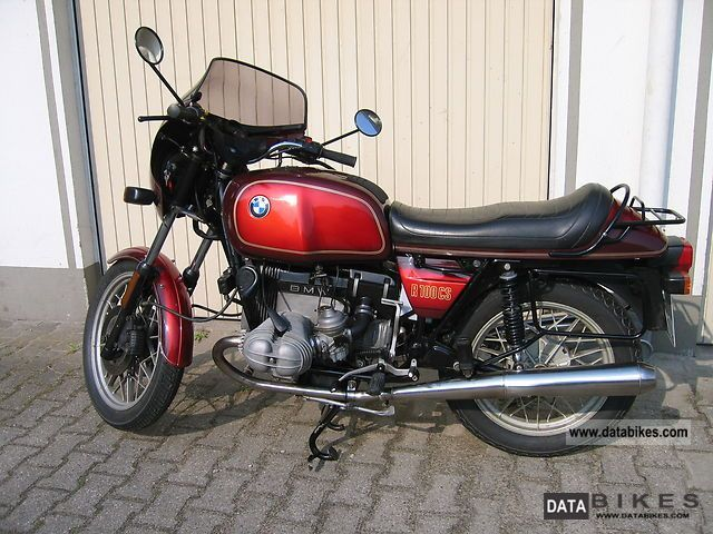 1982 BMW  R 100 CS \ Motorcycle Motorcycle photo