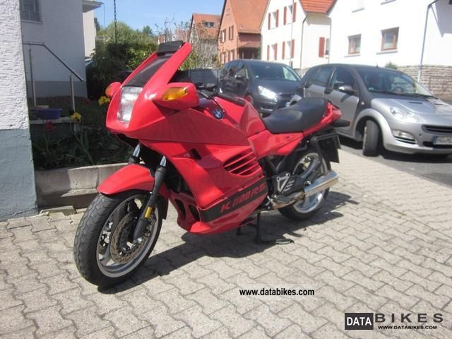 1995 BMW  K 1100 RS Motorcycle Sport Touring Motorcycles photo