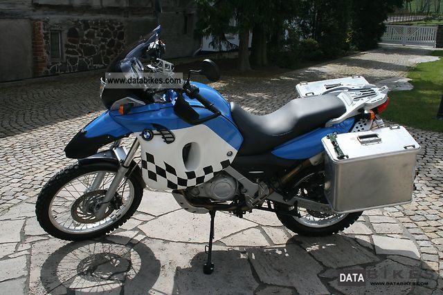 2005 Bmw F 650 Gs Dakar Large 39l Touratech Tank Tt39