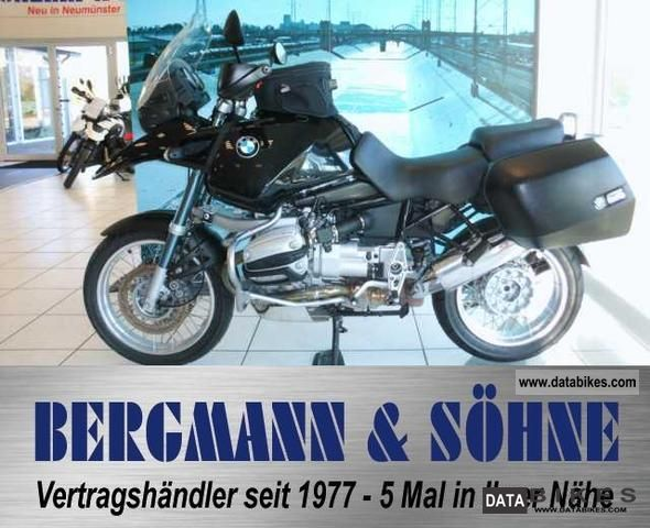 2001 BMW  R 1150 GS ABS + + + trunk rate maintained Motorcycle Motorcycle photo