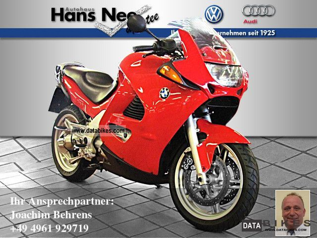 1998 BMW  K 1200 RS ABS CAT Motorcycle Tourer photo