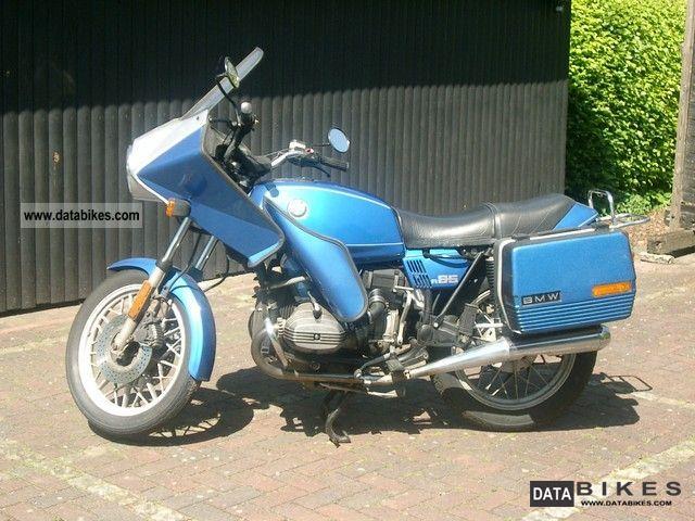 1984 BMW  R 65 Motorcycle Tourer photo
