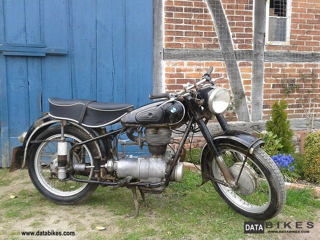 BMW  R25 / 3 1954 Vintage, Classic and Old Bikes photo