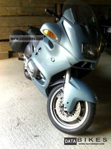 1999 BMW  RT 1100 RT Motorcycle Tourer photo
