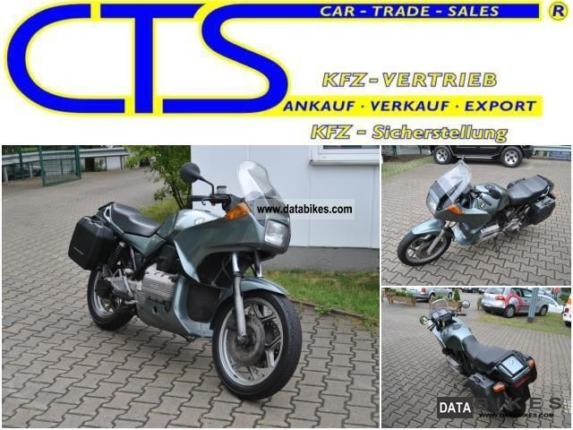 1989 BMW  Special K 75 Motorcycle Motorcycle photo